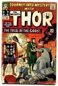 JOURNEY INTO MYSTERY #116 comic book 1965-LOKI - THOR marvel