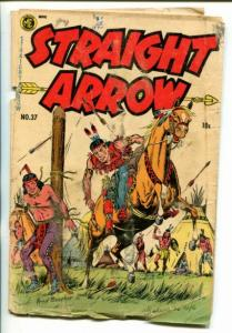 STRAIGHT ARROW  #37-1954-WESTERN-FRED MEAGHER INDIAN ART-pr