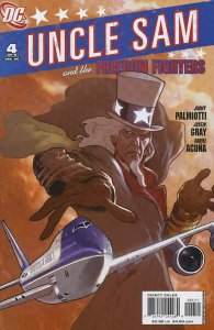 Uncle Sam and the Freedom Fighters #4 VF/NM; DC | save on shipping - details ins