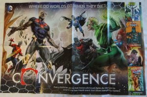 CONVERGENCE SUPERMAN Promo Poster , 22 x 34, 2015, DC,  Unused 042