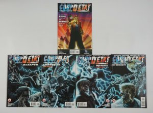 Coup D'Etat #1-4 VF/NM complete series + afterward AUTHORITY wildcats STORMWATCH