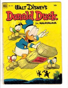 Four Color # 394 VG Dell Golden Age Comic Book Walt Disney's Donald Duck JL8