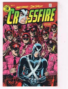 Crossfire #17 VF/NM Eclipse Comics Comic Book Evanier 1985 DE47 AD33