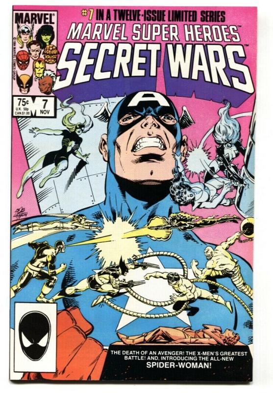 MARVEL SUPER HEROES SECRET WARS #7 1st Spider-Woman (Julia Carpenter)