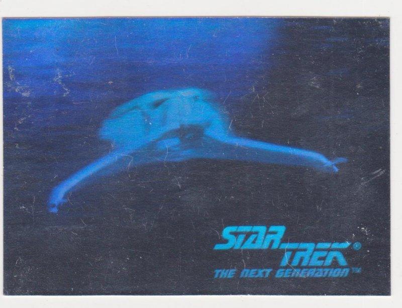 1992 Star Trek The Next Generation Hologram #01H Klingon Bird of Prey