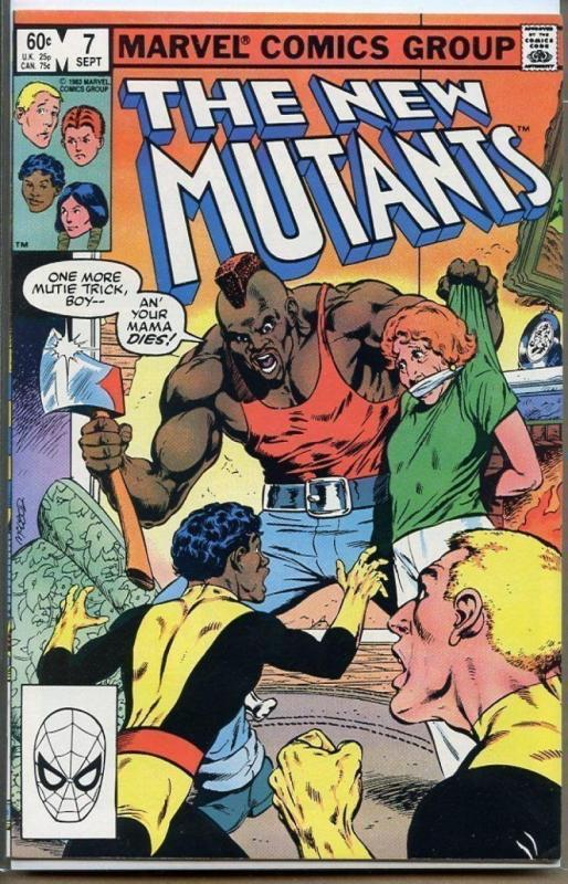NEW MUTANTS #7, VF/NM, Buscema, Claremont, Marvel 1983, more in store