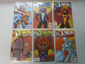 X-Men Forever set #1-6 8.0 VF (2001 1st Series)