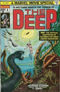 THE DEEP #1, VF/NM, Movie Special, Marvel, 1977, more in store