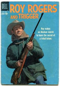 Roy Rogers And Trigger #133 1959-DELL WEST-RUSS MANNING VG