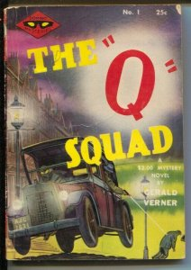 Domino Mysteries #1 1944-1st issue-The Q Squad-Gerald Verner-pulp fiction-VG