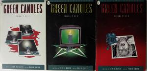 GREEN CANDLES Vols. 1-3 Paradox Mystery DC Comics GN Complete Set F-VF De Haven
