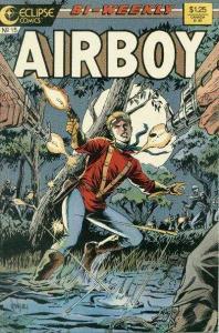 Airboy (1986 series) #15, VF- (Stock photo)