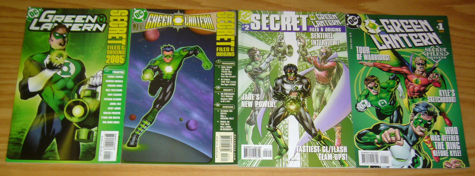 Green Arrow Secret File /& Origins #1 DC 2002 Comic Book VF-//VF