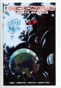 Micronauts Wrath of Karza #2 Subscription Variant (IDW, 2017) VF