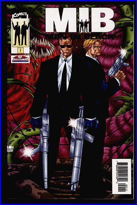 MEN IN BLACK scarce comic-where is Will Smith