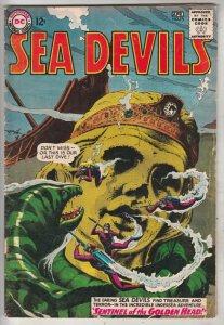 Sea Devils #16 (Apr-64) FN/VF+ Mid-High-Grade Sea Devils (Dane Dorrence, Biff...