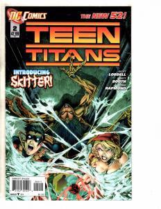 6 Teen Titans DC NEW 52 Comic Books # 0 2 3 4 5 + Annual # 1 Flash Robin J259