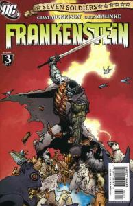 Seven Soldiers: Frankenstein #3 VF/NM; DC | save on shipping - details inside
