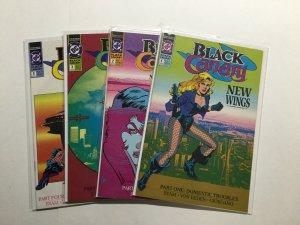 Black Canary New Wings 1-4 1 2 3 4 Lot Run Set Fine Fn 6.0 Dc Comics