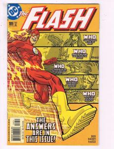 The Flash #189 VF DC Comics 'Comic Book Johns JLA 2007 DE18