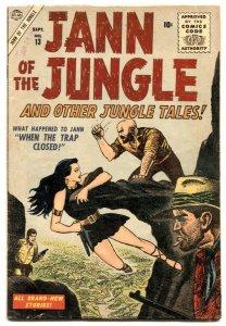 Jann of The Jungle  #13 1956- Atlas comics- VG