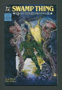 Swamp Thing #105  (2nd Series) 9.0 VFN/NM  March 1991