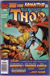 Thor (vol. 2 , 1998) #32 GD Jurgens/Andy Kubert (rep. 136,272,363)