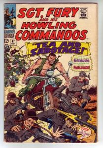Sgt. Fury and His Howling Commandos #47 (Oct-67) VG+ Affordable-Grade Sgt. Fu...