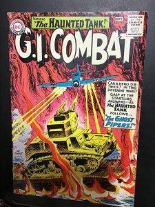 G.I. Combat #107 (1964) wow! Joe Kubert haunted tank cover key! VF/NM Boca CERT.