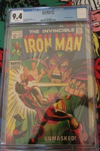 Iron Man #11 (Marvel, 1969) CGC NM 9.4 White pages
