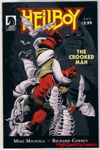 HELLBOY - CROOKED MAN #2, VF, Richard Corben, Mike Mignola, 2008