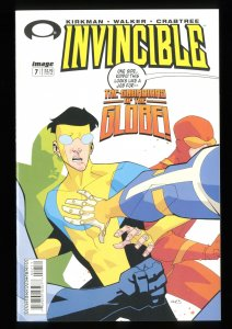 Invincible #7 VF/NM 9.0 1st Guardians of the Globe!
