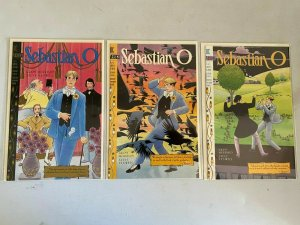 Sebastian O set #1-3 8.0 VF (1993)
