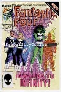 FANTASTIC FOUR #282 VF/NM Infinity, Byrne 1961 1985 Marvel, more FF in store