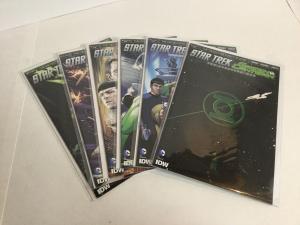 Star Trek Green Lantern 1-6 Mostly B Covers Lot Nm Near Mint DC Dark Horse A39