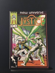 Justice #4 (1987)