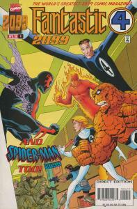 Fantastic Four 2099 #4 VF/NM; Marvel | save on shipping - details inside
