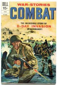 Combat #37 1972- Dell Comics- D-Day invasion Normandy FM+