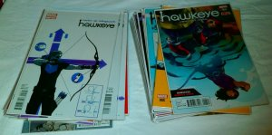 Hawkeye V4 #2-4+ V5 #5-16 All-New Hawkeye V1 #2-5 V2 #1-6, comic book lot of 34