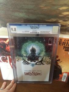 Tooth & And Claw 1 Cgc 9.8 Regular Edition