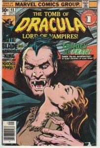 Tomb of Dracula(vol. 1) # 48  Tales of Dracula, Harker, and Blade !