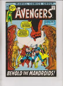 Avengers [1971 Marvel] #94 FN kree skrull war - neal adams - 1ST MANDROID 1971