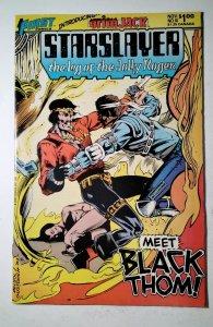 Starslayer #10 (1983) First Comic Book J756