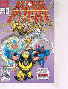 Lot Of 2 Marvel Comic Books Alpha Flight Special and Factor X #1ON6