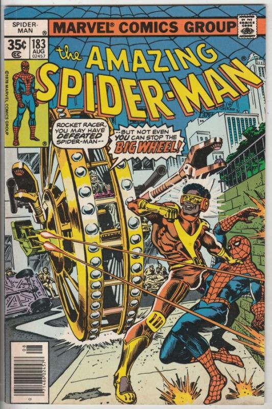 Amazing Spider-Man #183 (Aug-78) VF/NM High-Grade Spider-Man