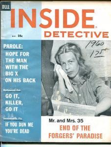 INSIDE DETECTIVE-DECEMBER 1960-G-SPICY-MURDER-RAPE-KIDNAP-MASSACRE G