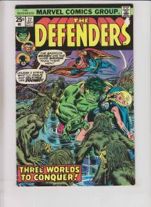 Defenders #27 early guardians of the galaxy - 1st appearance of starhawk - 1975