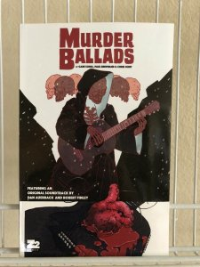 Murder Ballads TPB Trade Paperback GABE SORIA w/ Soundtrack Download Card