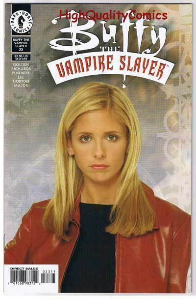 BUFFY the VAMPIRE SLAYER #23, NM+, Photo cv, Joss Whedon, 1998, more in store