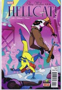 Patsy Walker AKA Hellcat #4 ORIGINAL Vintage 2016 Marvel Comics Groot Lizard